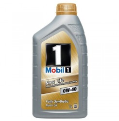 0W-40 Mobil 1 New Life Συσκ.:1-Lt  (MOBIL)