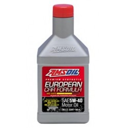 5W-40 [AFLQT] Συσκ.:946-ml European Car Formula (AMSOIL)