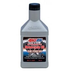 20W-50 [MCVQT] Συσκ.:946-ml Advanced Synthetic Motorcycle Oil (AMSOIL)