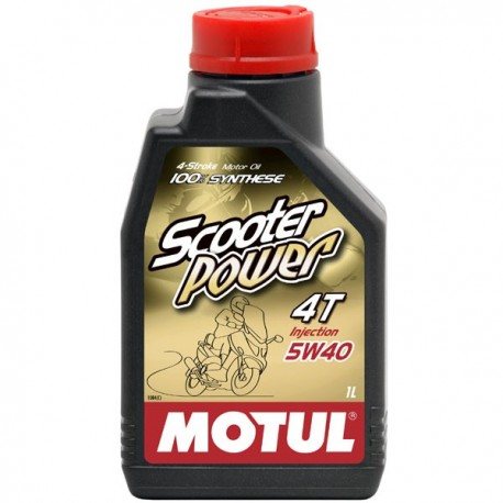 5W-40 SCOOTER4T POWER Συσκ.1-Lt (MOTUL)