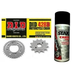 ΣΕΤ ΚΙΝΗΣΗΣ DID CRYPTON 105 / F1ZR & STAX CHAIN LUBE