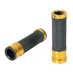 LM90310 ΧΕΡΟΥΛΙΑ ΜΟΤΟ METAL GRIPS (Χρυσό) (LAMPA)