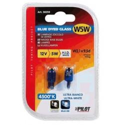 ΣΕΤ ΛΑΜΠΕΣ ΤΥΠΟΥ XENON W5W BLUE L58359  | LAMPA