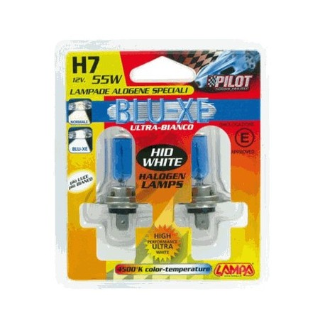H7 XENON-BLUE 12V/55W 57mm 4.500Κ
