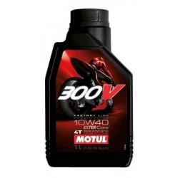 10W-40 300V 4T Moto FACTORY LINE Συσκ.1-Lt (MOTUL)
