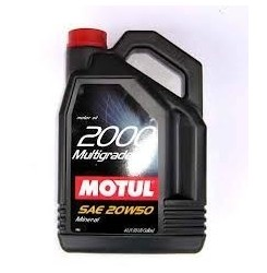 20W-50 2000 MULTIGRADE Συσκ.4-Lt (MOTUL)