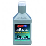 10W-40 [ASOQT] Συσκ.:946-ml Formula 4-Stroke Synthetic Scooter Oil (AMSOIL)