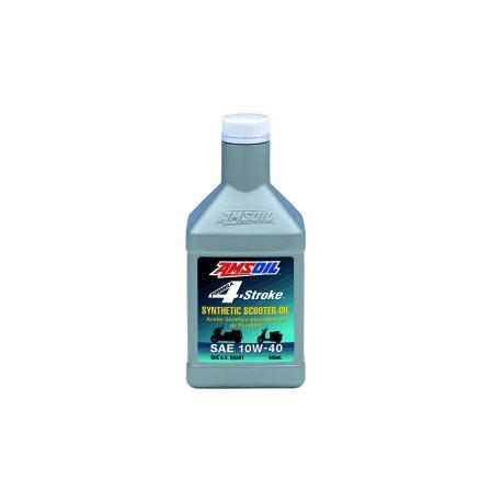 10W-40 [ASOQT] Συσκ.:946-ml Formula 4-Stroke Synthetic Scooter Oil (AMSOIL)