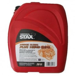 15W-40 AVEROIL GLOBAL PLUS SHPD Συσκ.20-Lt (STAX OIL)