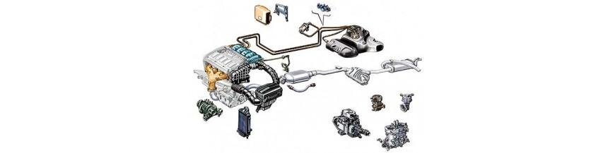 Τροφοδοσία -Εξαγωγή (Σύστημα παροχής καυσίμου/αέρα - Εξάτμιση)