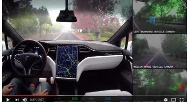 Πως δουλεύει ο αυτόματος πιλότος της Tesla!