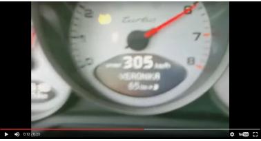 Porsche πάει με 300 χλμ/ώρα και την προσπερνάει Subaru σαν σταματημένη!