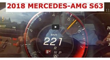 Mercedes-AMG S63... Επιτάχυνση 0-200 χλμ/ώρα..
