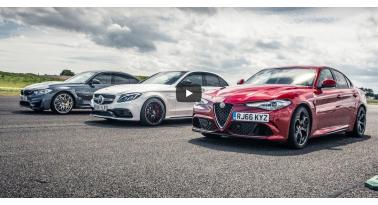 Δείτε την Alfa Giulia Quadrifoglio να κερδίζει ξανά την C63 S και την M3 σε αγώνα drag!