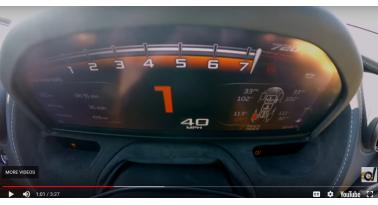 Μια υπενθύμιση του πόσο γρήγορη είναι η McLaren 720S!