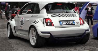 Αυτό είναι το πιο ζόρικο Fiat 500 στον κόσμο!