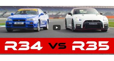 R34 Skyline GT-R Vs 2018 GT-R Nismo: Αγώνας μεταξύ παλιού και νέου!