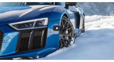 Ας υποδεχτούμε τον χειμώνα με αυτό το εντυπωσιακό video του Audi R8.