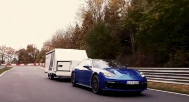 Νέο ρεκόρ στην Nurburgring... ταχύτερος γύρος με trailer!