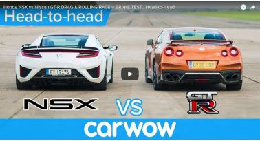 Honda NSX Εναντίον Nissan GT-R! Ποιο θα κερδίσει;