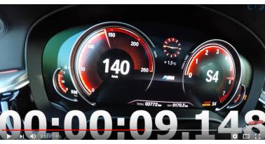 BMW Σειρά 6 GT 640i xDrive - Επιτάχυνση και τελική ταχύτητα