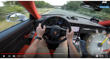 342χλμ/ώρα στην AUTOBAHN με PORSCHE 911 GT2 RS!