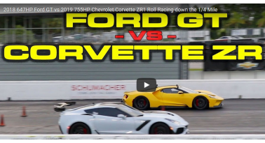 Ford GT Εναντίον Corvette ZR1! Ποιο θα κερδίσει;