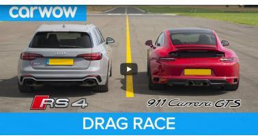 Audi RS4 Vs Porsche 911 GTS! Ποιο θα κερδίσει;