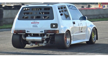 Δείτε ένα Fiat Cinquecento με κινητήρα  Superbike 1400cc!
