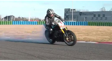 Drifting Motorbike