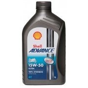 15W-50 ADVANCE 4T ULTRA 1LT SHELL