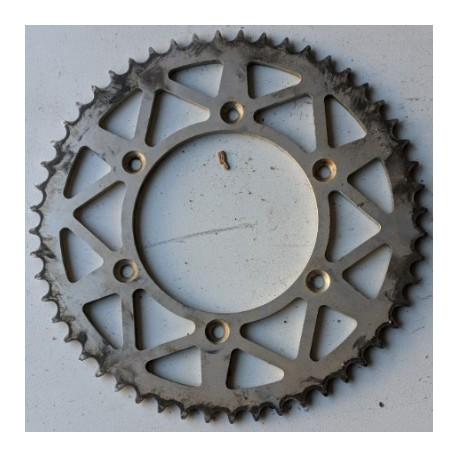 ΓΝΗΣΙΟ ΓΡΑΝΑΖΙ ΑΛΟΥΜΙΝΙΟΥ ΠΙΣΩ 52 ΔΟΝΤΙΑ KTM EXC 250 2007 (72304N-52) AFAM moto GENUINE
