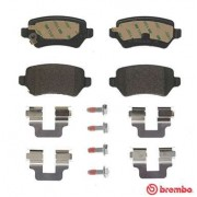 ΣΕΤ ΤΑΚΑΚΙΑ ΠΙΣΩ REAR BRAKE PADS CHEVROLET KIA OPEL P59038 BREMBO