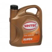 10W-40 SUPER SEMI SYNTHETIC MOTOR OILS API SG-CD 4LT SINTEC