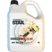 40W MONOGRADE HEAVY DUTY 4LT SAE 40 STAX OIL