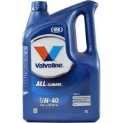 5W-40 ALL CLIMATE FULL SYNTHETIC 5LT VALVOLINE
