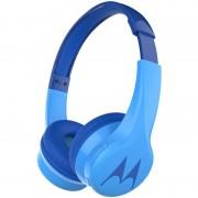 ΕΝΣΥΡΜΑΤΑ / ΑΣΥΡΜΑΤΑ ΠΑΙΔΙΚΑ ΑΚΟΥΣΤΙΚΑ ON EAR, BLUETOOTH, HANDS FREE ΜΕ SPLITTER SQUADS 300 BLUE MOTOROLA