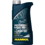 20W-50 MOTORBIKE 4-Takt HD API: SL, JASO: MA/MA2 1 LT 7830 MANNOL