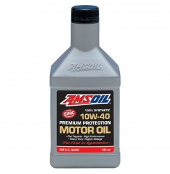 AMSOIL Synthetic oil 10w40 946ml.