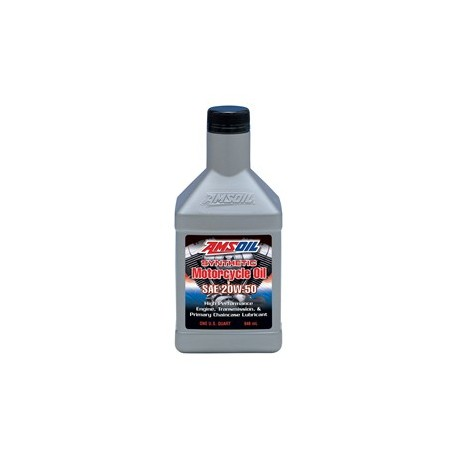 20W-50 MCVQT 946 ml Advanced Synthetic Motorcycle Oil AMSOIL