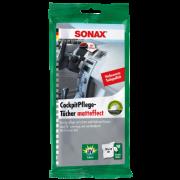 Υγρά Mαντιλάκια Περιποίησης Πλαστικών 10τμχ 415800 SONAX
