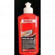SONAX Color και Wax Nano Χρωμοαλοιφή Κόκκινη 250ml