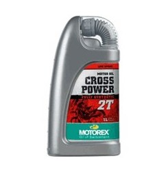 CROSS POWER 2T FULL SYNTHETIC Συσκ.1-Lt LOW SMOKE (MOTOREX)