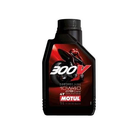 10W-40 300V 4T Moto FACTORY LINE ROAD 1LT MOTUL