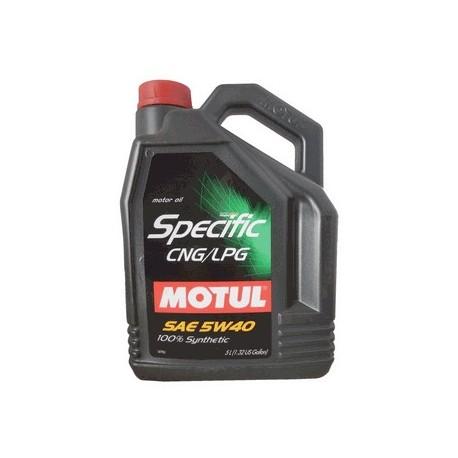 5W-40 SPECIFIC CNG/LPG Συσκ.5-Lt (MOTUL)
