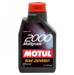 20W-50 MULTIGRADE 2000 1LT MOTUL