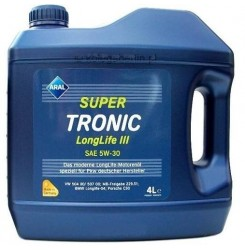 5W-30 SUPER TRONIC LONG LIFE III Συσκ.4-Lt (ARAL)