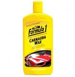 ΓΥΑΛΙΣΤΙΚΗ ΑΛΟΙΦΗ ΜΕ ΚΕΡΙ Carnauba Liquid Car Wax 473ml (615029) FORMULA 1