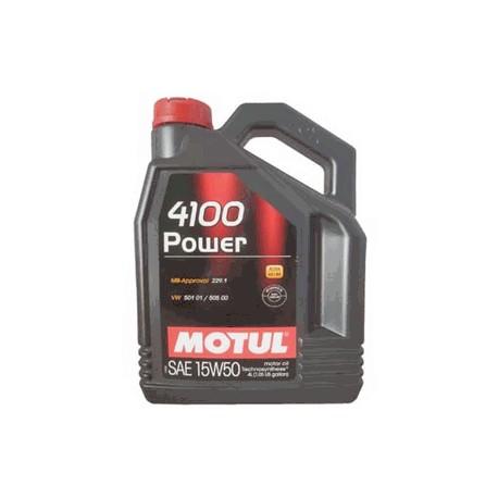 15W-50 4100 POWER 4 LT MOTUL