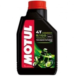 15W-50 5100 4T SYNTHETIC Συσκ.1-Lt (MOTUL)